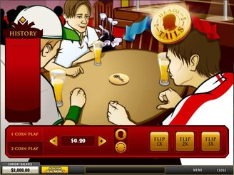Play Heads or Tails Arcade Online