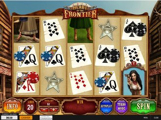 Play Heart of The Frontier Slots Online