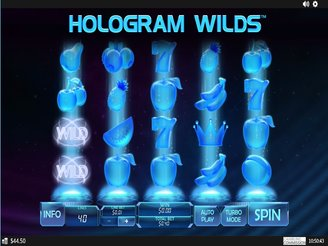 Play Hologram Wilds Slots Online