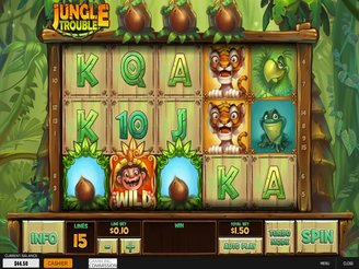 Play Jungle Trouble Slots Online