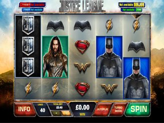 Play Justice League Slots Online