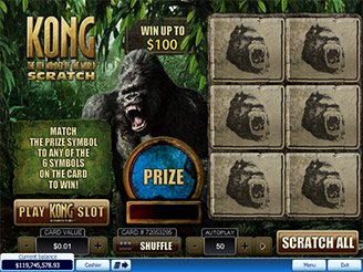 Play Kong Scratch Online