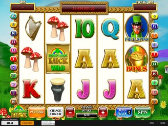 Play Leprechaun's Luck Slots Online