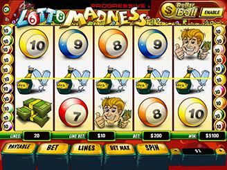 Spielen sie Lotto Madness Spielautomaten Online
