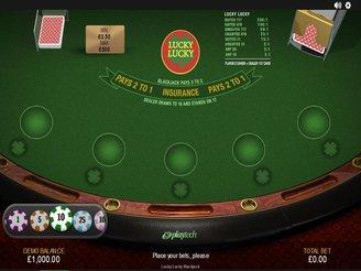 Play Lucky Lucky Blackjack Online