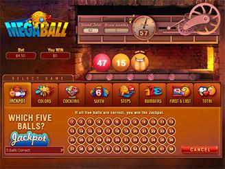Play Megaball Arcade Online
