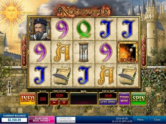 Play Nostradamus Slots Online