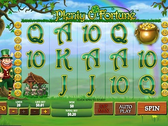 Play Plenty O'Fortune Online
