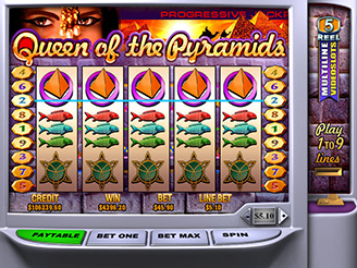 Play Queen of Pyramids Slots Online