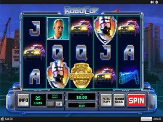 Play Robocop Slots Online