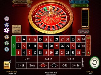 Play Dragon's Jackpot Roulette Online