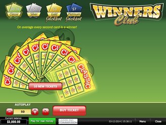 Play Winners Club Scratch Online