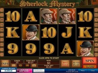 Spielen sie Sherlock Mystery Spielautomaten Online