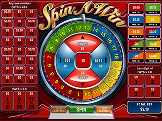 Play Spin a Win Arcade Online