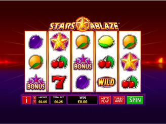 Play Stars Ablaze Slots Online