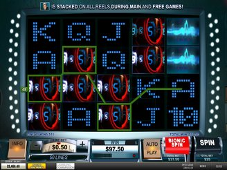 Play The Six Million Dollar Man Slots Online