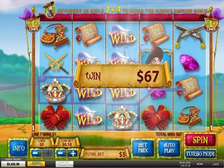 Spielen sie The Three Musketeers and the Queen's Diamond Spielautomaten Online