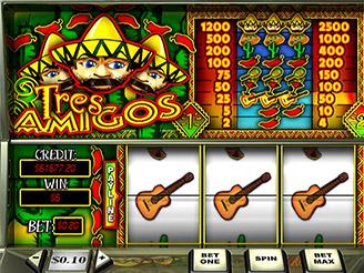 Play Tres Amigos Slots Online