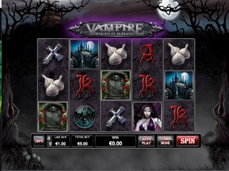 Play Vampire Princess of Darkness Slots Online