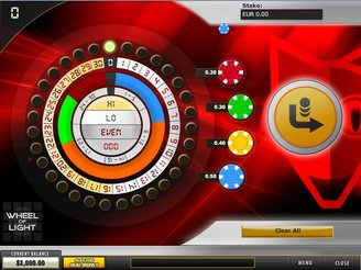 Play Wheel of Light Arcade Online