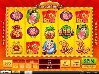 Play Zhao Cai Tong Zi Online