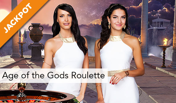 Age of the Gods Roulette Live