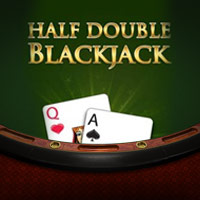 Half Double Blackjack