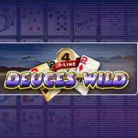 4-Line Deuces Wild Video Poker