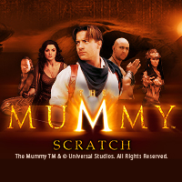 The Mummy Scratch