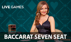 Live Baccarat Seven Seat