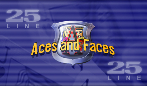 25 Line Aces and Faces Videopoker