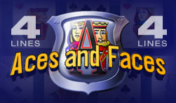 4 Line Aces and Faces Videopoker
