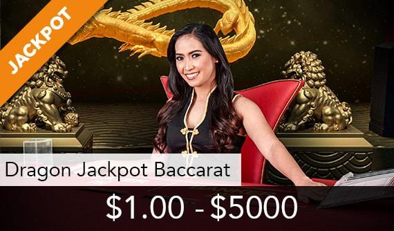 Dragon Jackpot Baccarat Live
