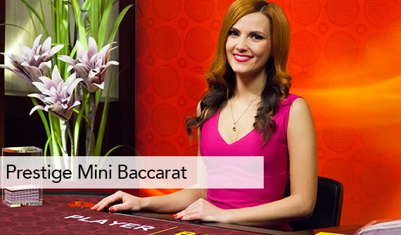 Prestige Mini Baccarat Live