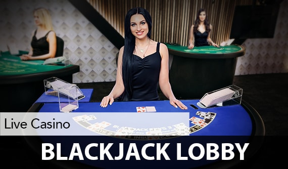 Blackjack Live Lobby
