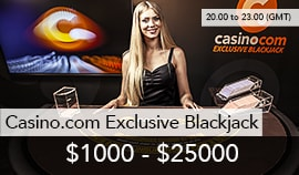 Casino.com Exclusive Blackjack