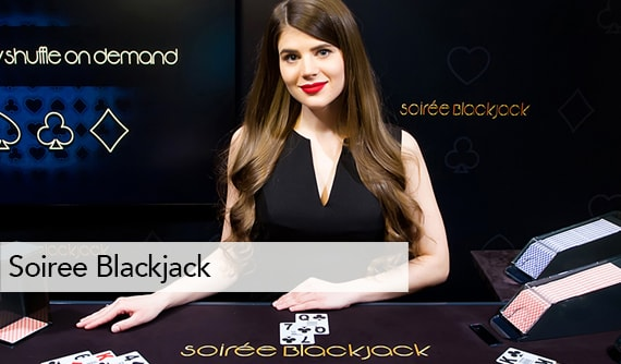 Soiree Blackjack Live