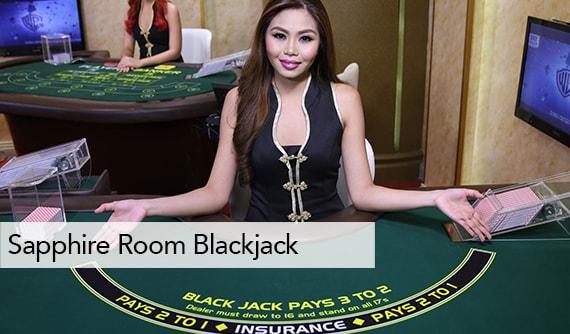 Sapphire Room Blackjack Live