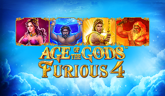 Age of the Gods: Furious Four Slots Online