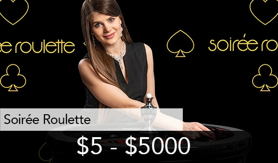 Soiree Roulette Live