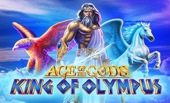 Play Age of the Gods: King of Olympus with Casino.com ZA