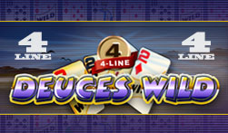 4-Line Deuces Wild Video Poker